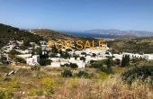 1201, Lefkes 3-plot land with tremendous views, and walking distance to town