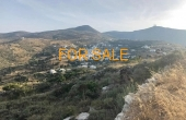 1202, 3 acre plot of land in Lefkes, with beautiful views